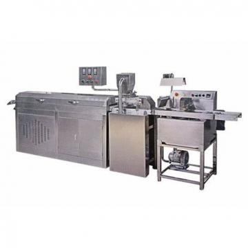 Small Automatic Candy and Chocolate Bean Making Machine Protein Bar Chocolate Production Line